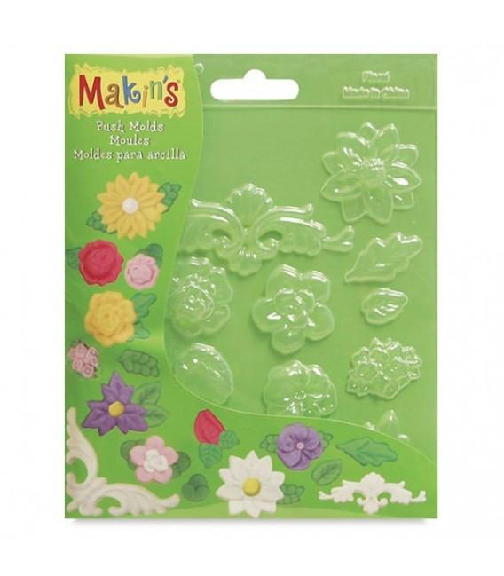 Makin's | Шаблони за създаване на 3d форми – цветя