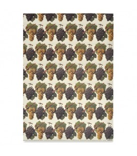 "Decorative Paper ""Grapes"" Tassotti 50 x 70 cm 85 g/m²"