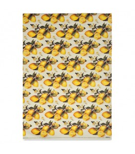 "Decorative Paper ""Lemons"" Tassotti 50 x 70 cm 85 g/m²"