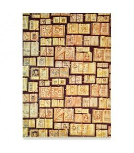 "Decorative Paper ""Antique Books"" Tassotti 50 x 70 cm 85 g/m²"