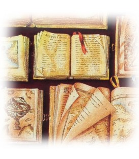 "Decorative Paper ""Antique Books"" Tassotti 50 x 70 cm 85 g/m²"