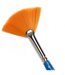 Fan Brush Tintoretto S217 Amber Synthetic Fiber