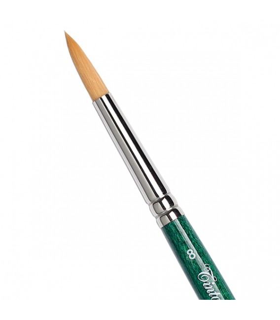 Round Brush Tintoretto S595 Thin Synthetic Fiber