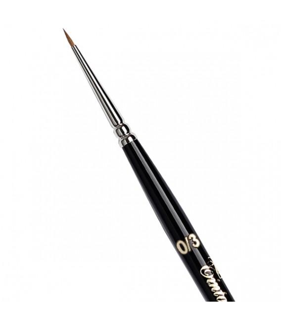 Round Brush Tintoretto S37 Siberian Kolinsky Sable Hair