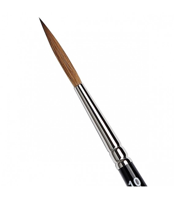 Extra Long Round Liner Brush Tintoretto S336 Kolinsky Sable Hair