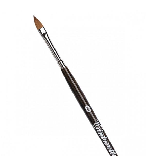 Cat's Tongue Brush Tintoretto S440 Kolinsky Sable Hair