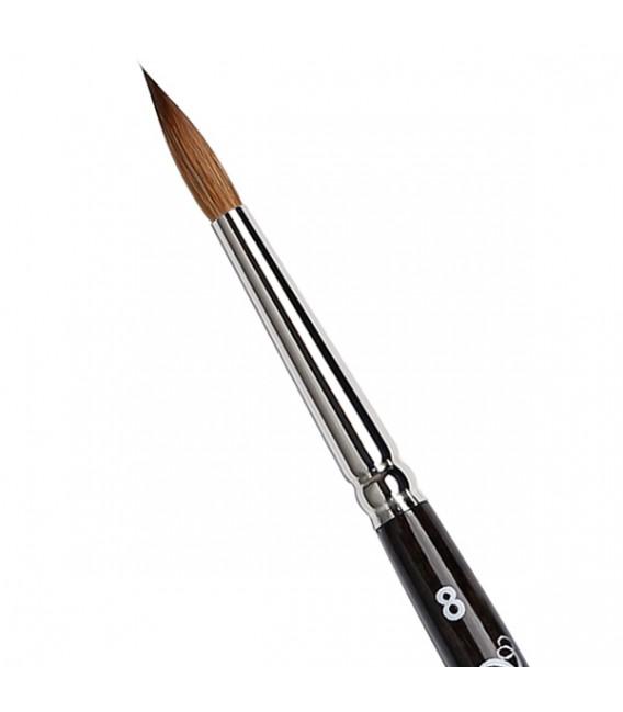 Round Brush Tintoretto S334 Kolinsky Sable Hair