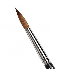 Round Brush Tintoretto S334 Kolinsky Sable Hair