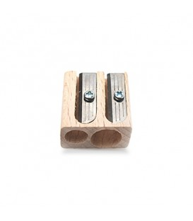 Dual-Hole Wooden Pencil Sharpener Koh-i-noor