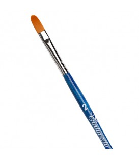 Filbert Brush Tintoretto S846 Amber Synthetic Fiber