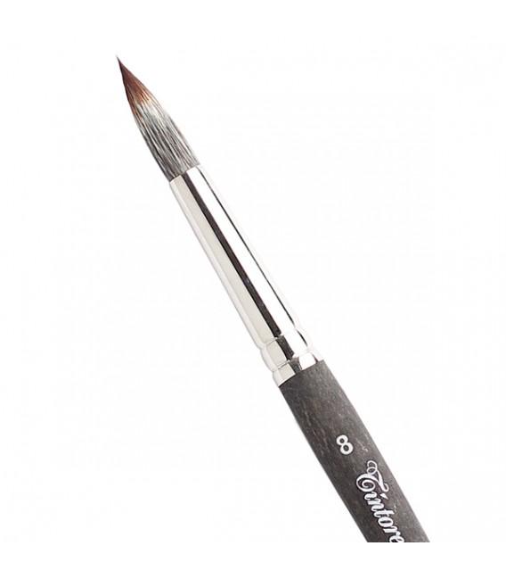 Round brush Tintoretto S542 Ferret Synthetic Fiber
