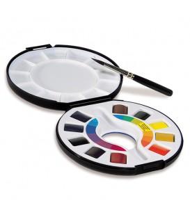 Raphael Watercolor 10-Half Pan Travel Box