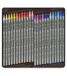 Koh-i-noor Progresso Woodless Aquarelle Pencils Set of 48 Colors