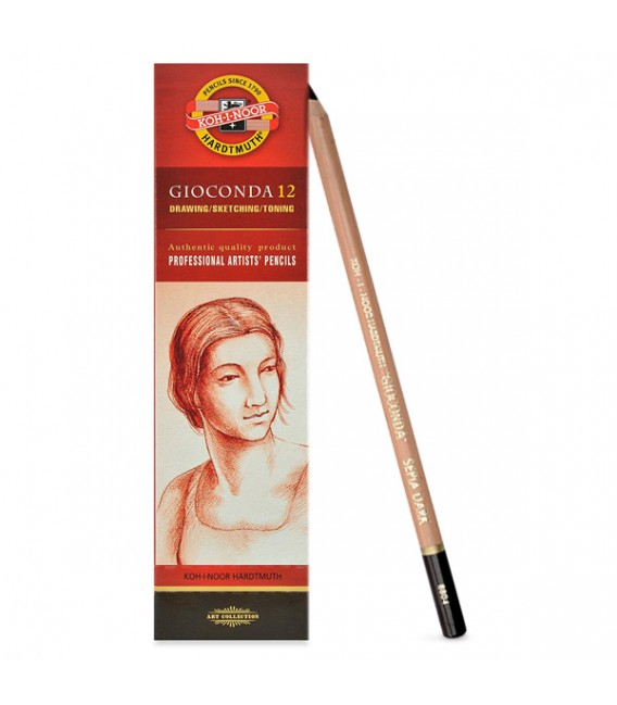 Chalk pencil Koh-I-Noor Gioconda dark sepia 8803