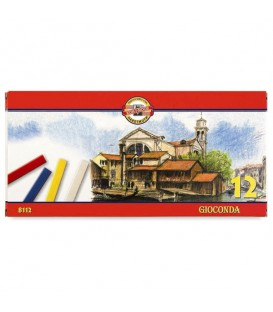 Set of hard pastels Koh-I-Noor Gioconda 8112 12 colors