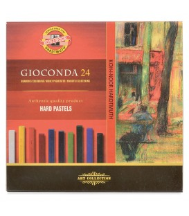 Set of hard pastels Koh-I-Noor Gioconda 24 colors  8114