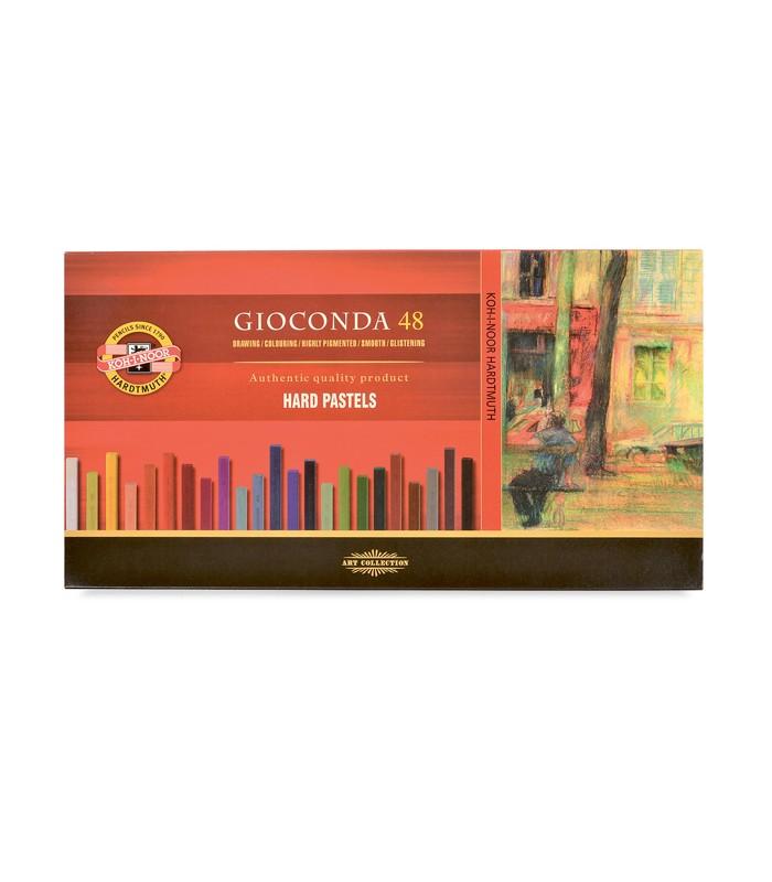 Set Of Hard Pastels Koh I Noor Gioconda 48 Colors 8116