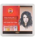 Koh-I-Noor Polycolor Set оf 24 Artist´s Coloured Pencils 3824 Portrait