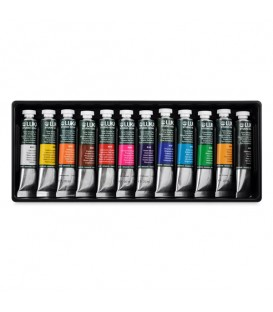 Lukas Studio Gouache Tempera Paint Set of 12 x 20 ml