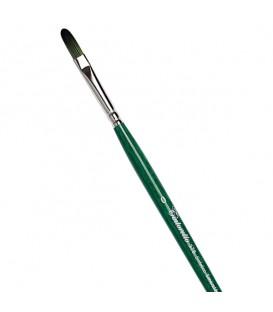 Filbert Brush Tintoretto S378 Emerald Synthetic Fibre Long Handle