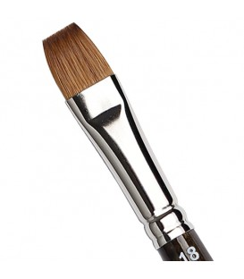 Flat Brush Tintoretto S424 Kolinsky Sable Hair