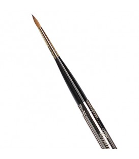 Round Pocket Brush Tintoretto S1326 Kolinsky Sable Hair