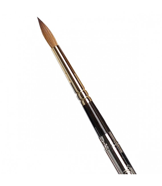 Round Pocket Brush Tintoretto S1326 Kolinsky Sable Hair