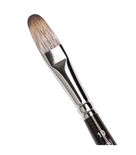 Filbert Brush Tintoretto S428 Mongoose Synthetic Fibre Long Handle