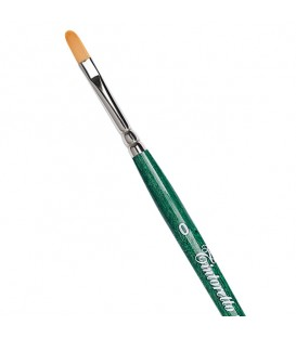 Filbert Brush Tintoretto S868 Thin Synthetic Fiber Long Handle
