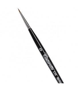 Shorter Hair Round Brush Tintoretto S330 Kolinsky Sable Hair