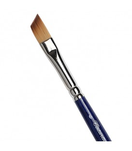 Flat Angular Brush Tintoretto S457 Bronze Synthetic Fibre