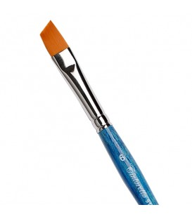 Flat Angular Brush Tintoretto S457 Amber Synthetic Fibre