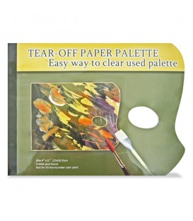 Conda Tear Off Paper Palette 230 x 305 mm