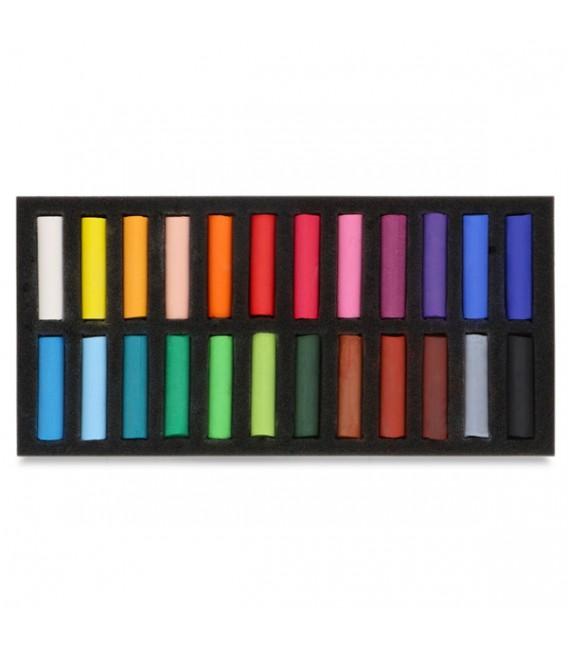 Set of Half Soft Pastels Koh-i-noor Toison d'Or 24 colours
