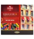 Set of Half Soft Pastels Koh-i-noor Toison d'Or 48 colours