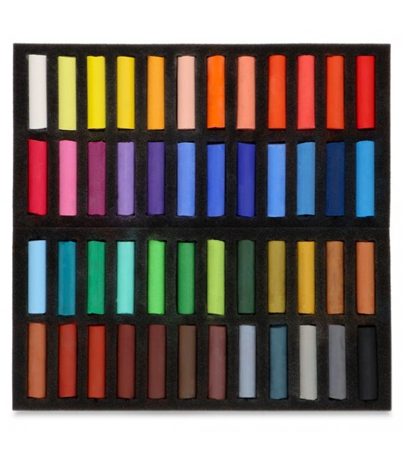 Set of Half Soft Pastels Koh-i-noor Toison d'Or 48 colours