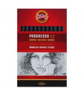Woodless Graphite Pencil Koh-I-Noor Progresso 8911