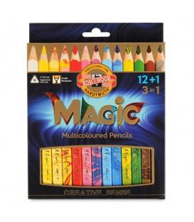 "Koh-I-Noor Set of pencils ""Magic"" 12 + 1 pc. in a cardboard box"