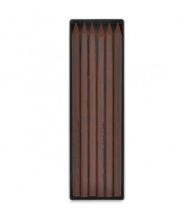 Koh-I-Noor | Gioconda Креда - тъмно кафява сепия 6 броя 5.6 mm