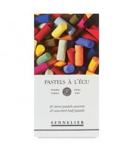 Sennelier | Сухи пастели половинки 20 цвята