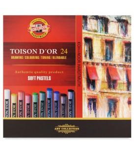 Koh-i-noor | Toison d'Or Сухи пастели 24 цвята