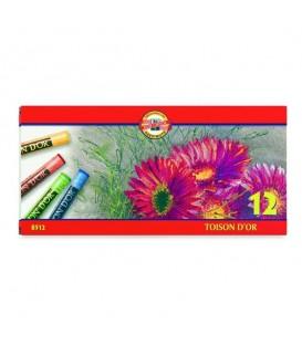 Koh-i-noor | Toison d'Or Ученически сухи пастели 12 цвята