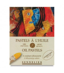 Sennelier Discovery Oil Pastels Set of 6 Colours