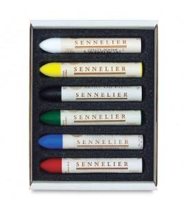 Sennelier | Discovery Маслени пастели 6 цвята