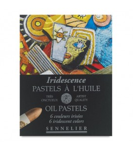Sennelier | Iridescence Маслени пастели специални нюанси 6 цвята