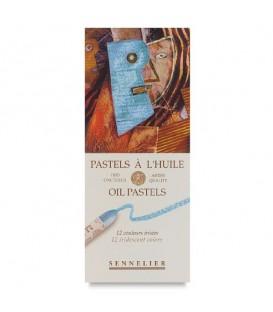 Sennelier | Iridescence Маслени пастели специални нюанси 12 цвята